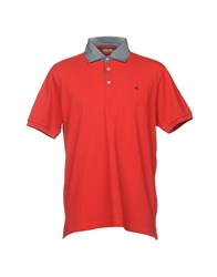 Brooksfield Polo Shirts Red