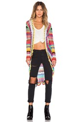 Unif Mandala Cardigan Yellow