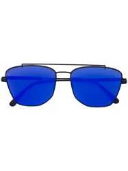 Vera Wang Concept 79 Sunglasses Stainless Steel Plastic Blue