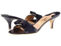 Salvatore Ferragamo Glory Oxford Blue Patent Women's Dress Sandals