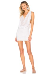 Indah Amnesia Mini Dress White