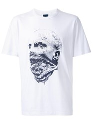 Juun.J Embroidered T Shirt White