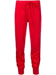 Andrea Ya'aqov Classic Jogging Trousers Red