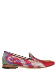 Etro 20Mm Satin Loafers