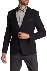 Antony Morato Textured Slim Fit Blazer Black