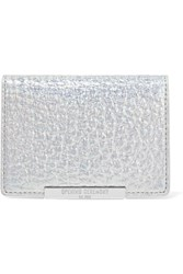 Opening Ceremony End Chip Metallic Leather Cardholder