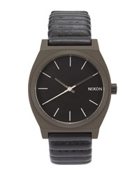 Nixon Bronze Time Teller Watch With Black Face