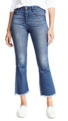 Tortoise Bellatula Highrise Cropped Flare Jeans Magnetic