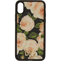Dolce And Gabbana Multicolor Flowers Iphone X Case