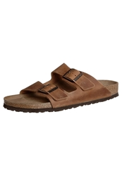 Birkenstock Arizona Slippers Antik Braun Light Brown
