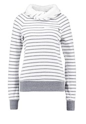 Abercrombie And Fitch Sweatshirt Cream Heather Off White