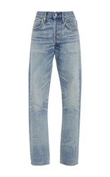 Citizens Of Humanity Dree High Rise Slim Straight Jeans Light Wash