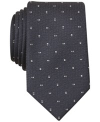 Bar Iii Forester Micro Skinny Tie Only At Macy's Black