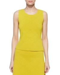 A.L.C. Russell Pointelle Sleeveless Top Citric