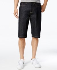 Sean John Men's Denim Shorts Raw Indigo