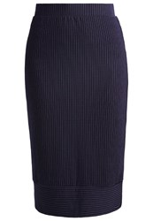 Selected Femme Sfreina Pencil Skirt Navy Blazer Dark Blue
