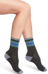 Wigwam Women's Swatara Crew Socks Black