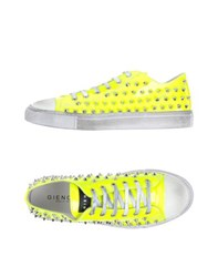 Gienchi Footwear Low Tops And Trainers Men Yellow