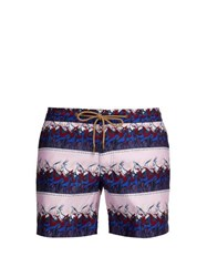 Thorsun Titan Fit Antelope Print Swim Shorts Pink