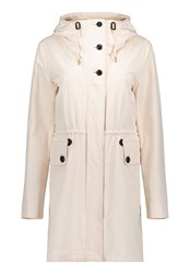 Betty Barclay Crossover Hooded Parka White