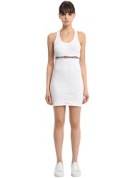 Moschino Rib Jersey Dress With Elastic Trim