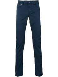 Re Hash Rubenzs Trousers Men Cotton Spandex Elastane 36 Blue