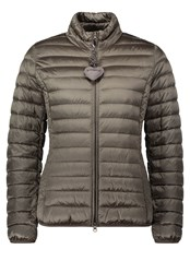 Betty Barclay Quilted Down Jacket Red
