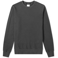 Ksubi Seeing Lines Crew Sweat Black