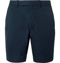 Rlx Ralph Lauren Cypress Slim Fit Stretch Shell Shorts Navy