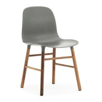Normann Copenhagen Form Chair Walnut Grey