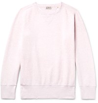 Levi's Vintage Clothing Bay Meadows Fleece Back Cotton Jersey Sweatshirt Pastel Pink