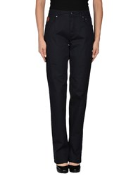 Tru Trussardi Trousers Casual Trousers Women Dark Blue