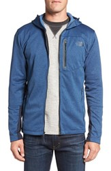 The North Face Men's 'Canyonlands' Full Zip Hoodie Shady Blue Heather