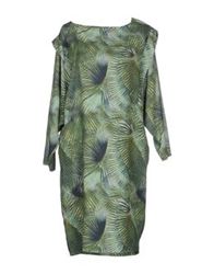 Les Prairies De Paris Short Dresses Green