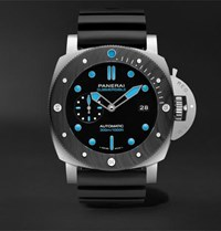 Panerai Submersible Automatic 47Mm Bmg Tech And Rubber Watch Black
