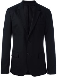 Ami Alexandre Mattiussi Lined 2 Button Jacket Black