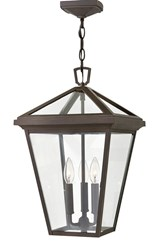 Hinkley Alford Place Outdoor Hanging Light Brown