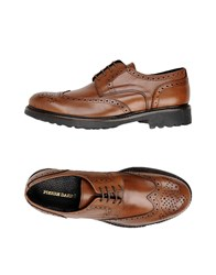 Pierre Darre Lace Up Shoes Brown