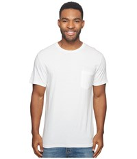 Rvca Logo Rig Tee Antique White Men's T Shirt