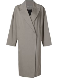 Dusan Oversized Single Breasted Coat Nude And Neutrals