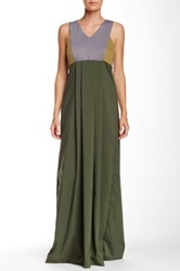 Vpl Panopoly Maxi Dress Green