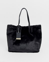 Carvela Furly Large Tote In Black