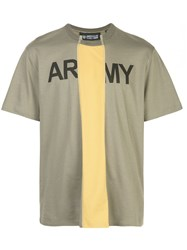 Mostly Heard Rarely Seen Cut Out Army Logo T Shirt 60
