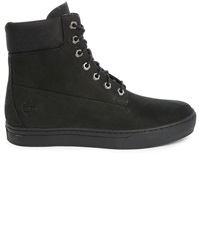 Timberland Black Nubuck Cupsole 6 Inch Boots