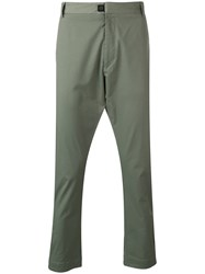 Low Brand Tapered Trousers Green