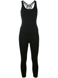 Sapopa Fitted Jumpsuit Black