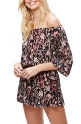 Free People Women's Pretty And Off The Shoulder Romper