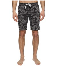 2Xist Jogger Slim Boardshorts Camo Black Men's Swimwear
