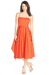 Women's Tracy Reese 'Artful Anne' Cut Out Back Fit And Flare Dress