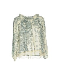Cafe'noir Cafenoir Blouses Light Green